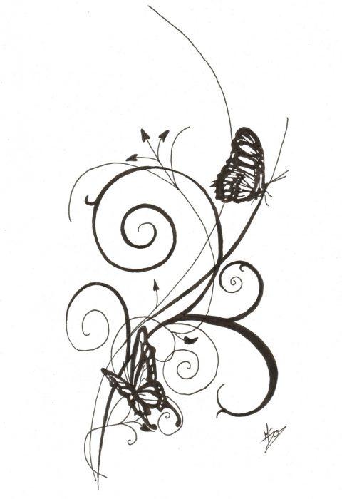 624 tattoo papillon aso idark dessin et portrait. Black Bedroom Furniture Sets. Home Design Ideas