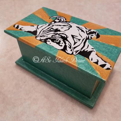 boites et coffrets bois carton plastiques m taux divers aso idark dessin et portrait. Black Bedroom Furniture Sets. Home Design Ideas