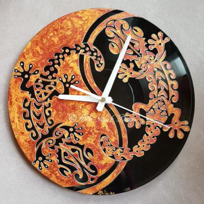 horloges et miroirs peint la main objets personnalis s tous supports aso idark dessin et. Black Bedroom Furniture Sets. Home Design Ideas